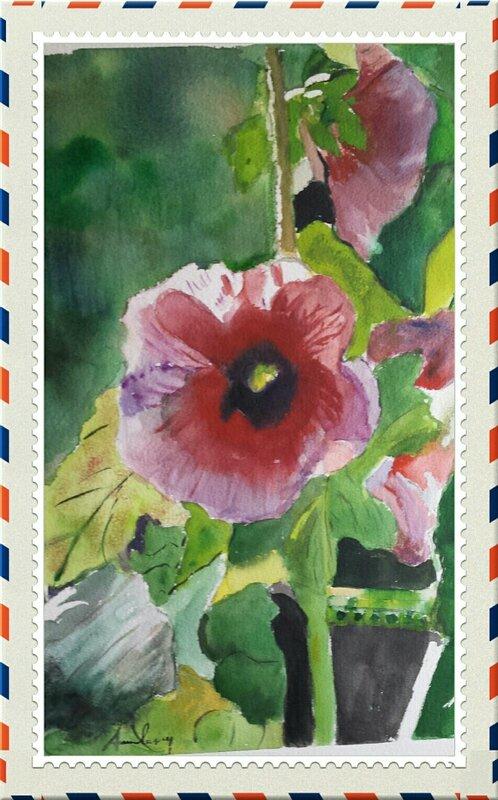 Fleur, étude 9