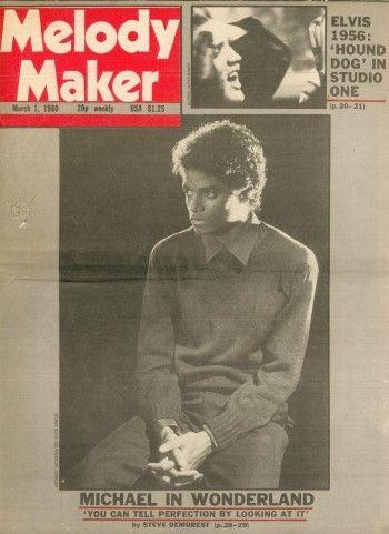Michael in wonderland melody maker 1er mars 1980 on for Maker jackson