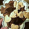 assiette de 3 chocolats