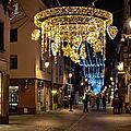 Noël 2015 à strasbourg - chemin de lumière - grand rue