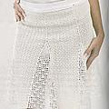 Vêtement femme au crochet #5 : elégante jupe