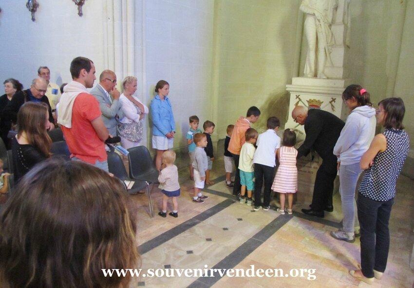 14 juillet, le Souvenir Vendéen fidèle à Cathelineau