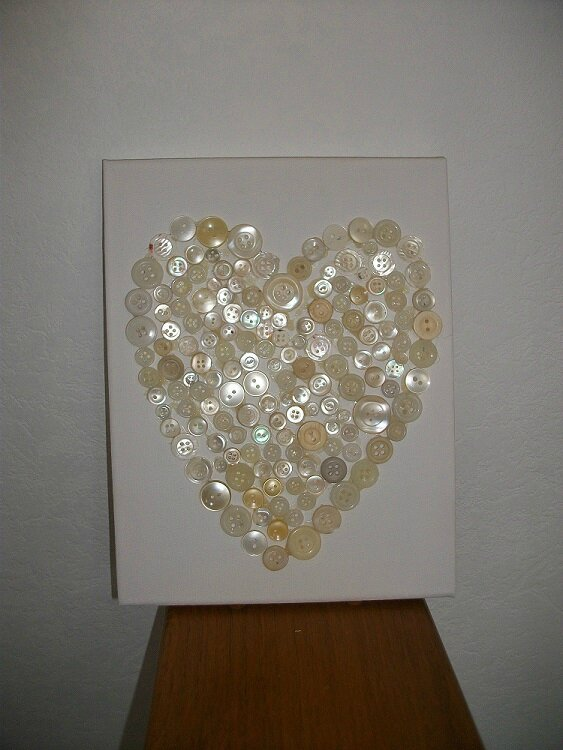 cadre coeur nacre 1