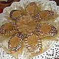 Les faux mille-feuilles ( biscuit sec)