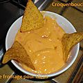 Sauce fromage pour tacos
