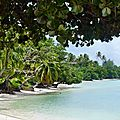 Huahine 2006 (92)une plage