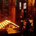 Dans la cathédrale de strasbourg