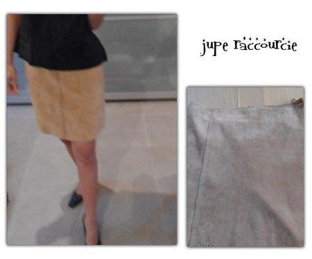 jupe raccourcie