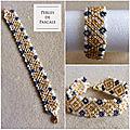 Bracelet tissage danois