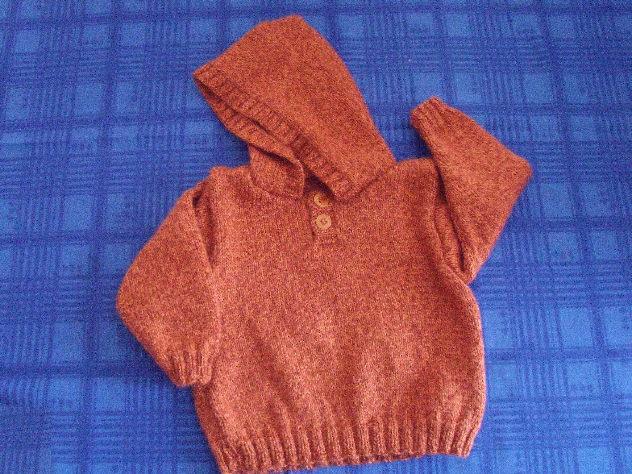 patron tricot 4 ans