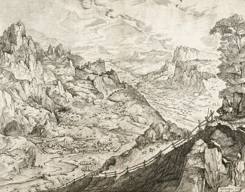 Large Alpine Landscape, 1555-1556
