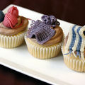 Tricot cupcakes