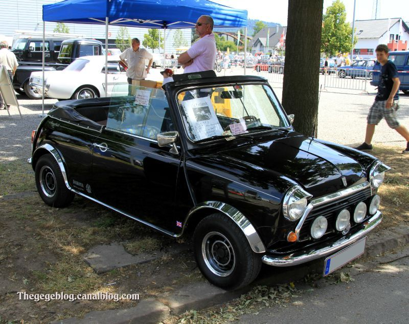 l 39 austin mini mk2 mayfair cabriolet de 1979 regiomotoclassica 2011 the g g blog. Black Bedroom Furniture Sets. Home Design Ideas