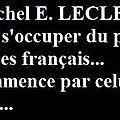 Michel E. LECLERC SI.....