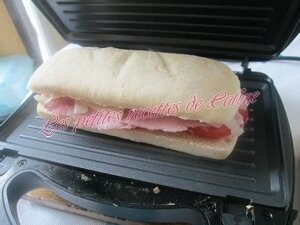 panini au jambon, tomate & fromage à raclette12