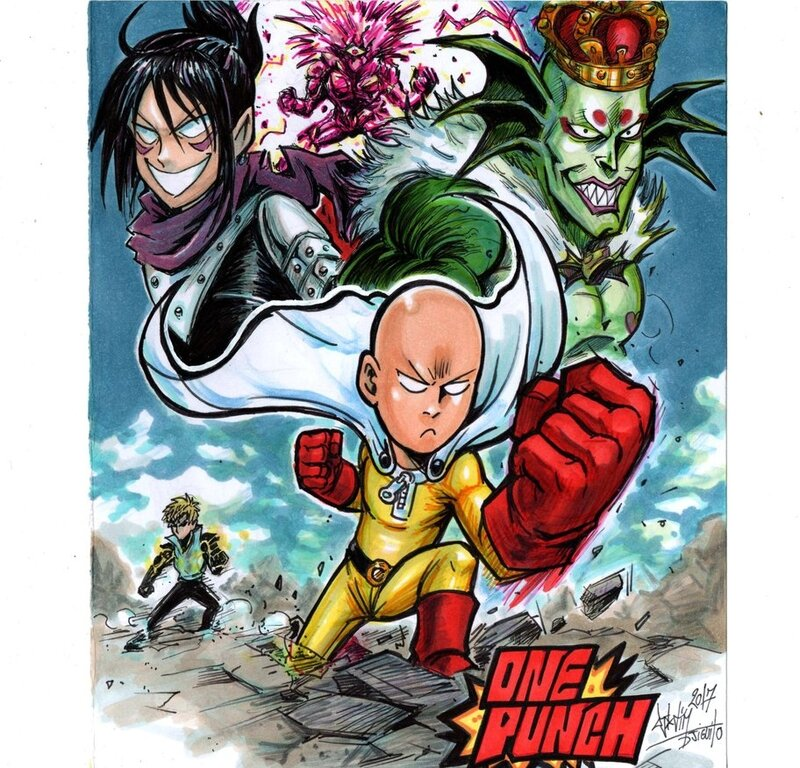 one_punchman_vs_villains_by_djiguito-db65o2x