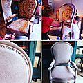 Peindre un fauteuil