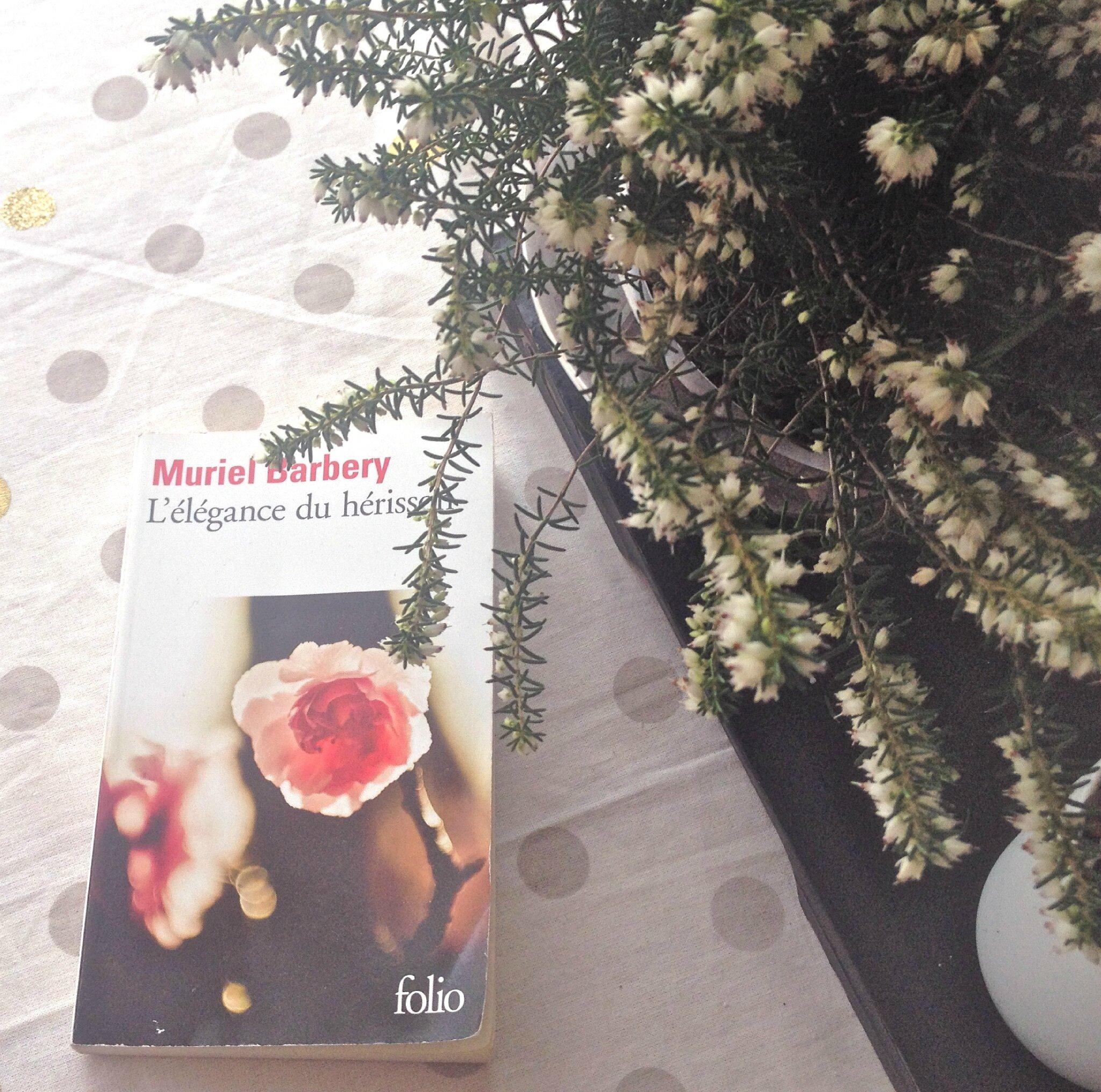 Un peu de lecture #17 : L'élégance du hérisson de Muriel Barbery (et habitudes littéraires de votre dévouée Curieuse...!)