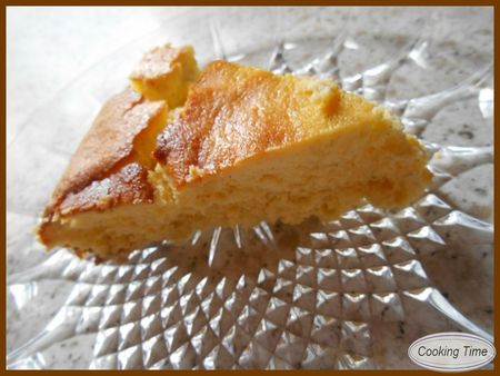 cheesecake citron et vanille