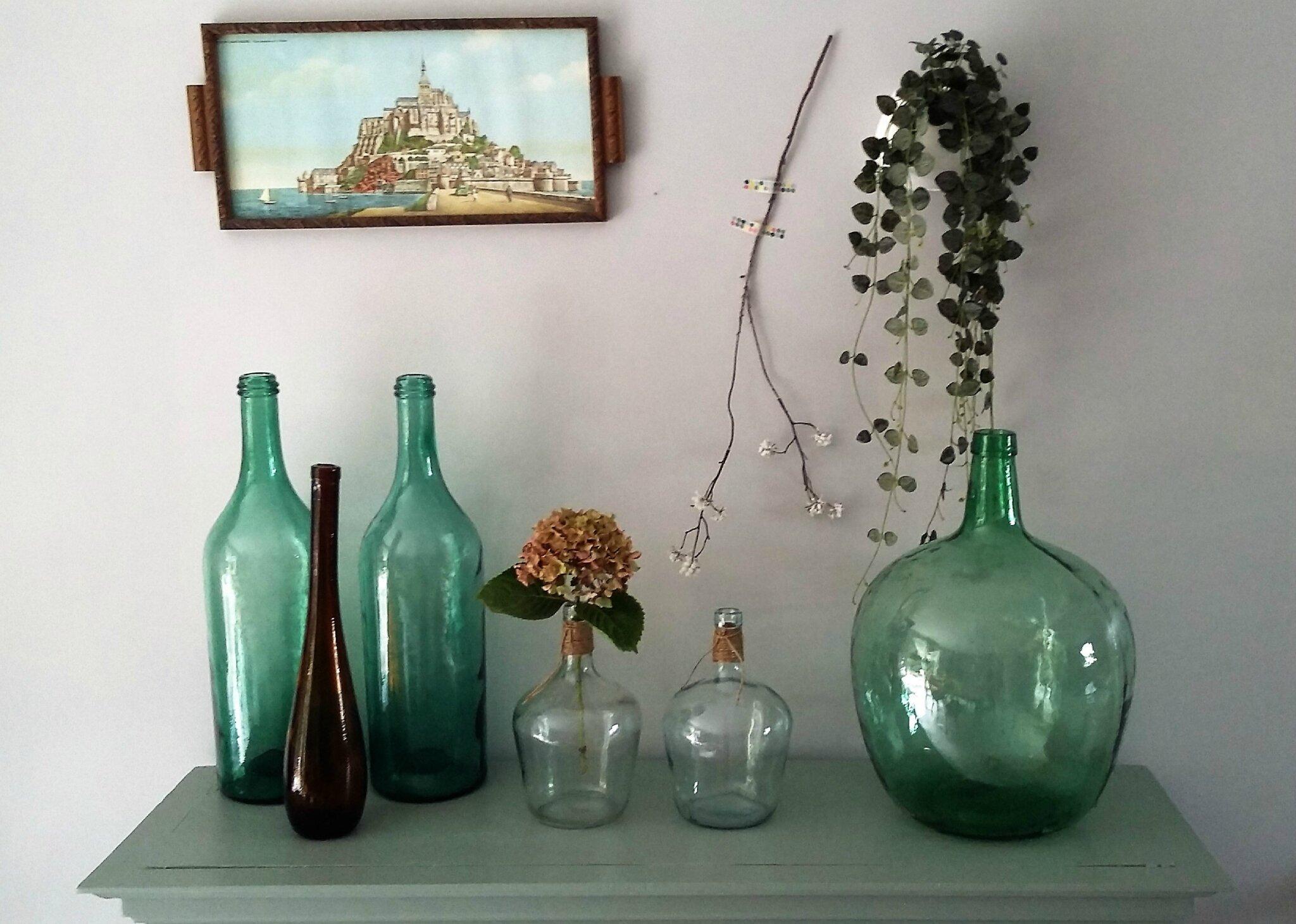 Bouteille En Verre Dame Jeanne Et R Hoboam Collection
