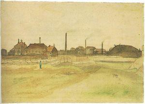 Panneau 3 dessin de Van Gogh