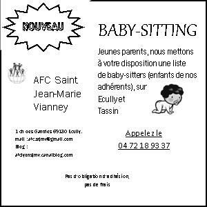 annonce baby sitting exemple. Black Bedroom Furniture Sets. Home Design Ideas