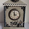 Horloge/pendule de table retro / vintage