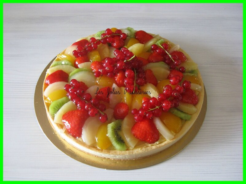 tarte fruits
