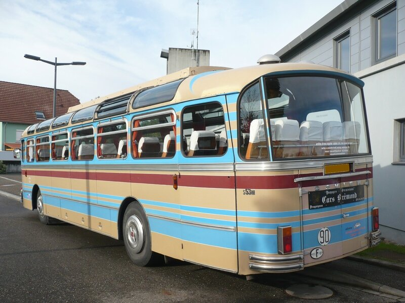 SAVIEM S53M autocar version Excursion 1971 Weyersheim (2)