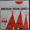 American indian dances, folkways rec., lp, 1959