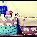 Petites panières pour bébé