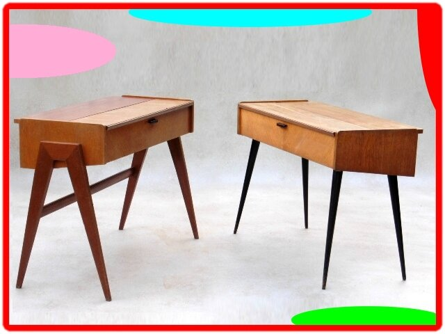 console bureau vintage design scandinave meubles et d coration design vintage. Black Bedroom Furniture Sets. Home Design Ideas