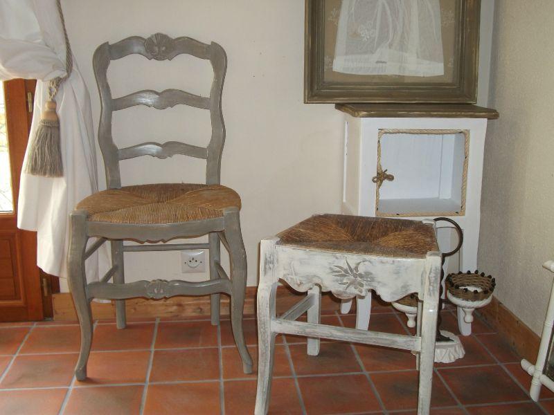 ancienne chaise transform 233 e en tabouret l amour d antan