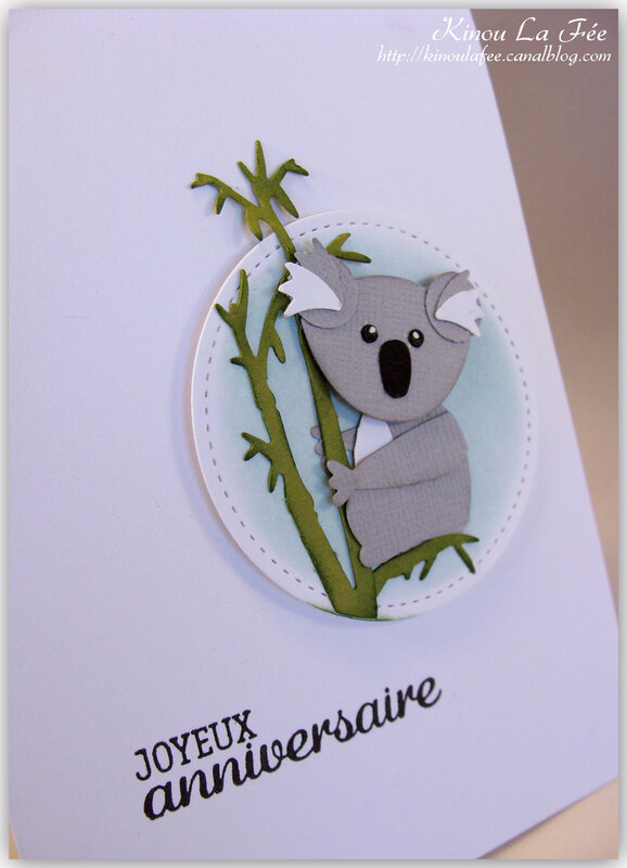 Carte Foxy Friend Koala 2