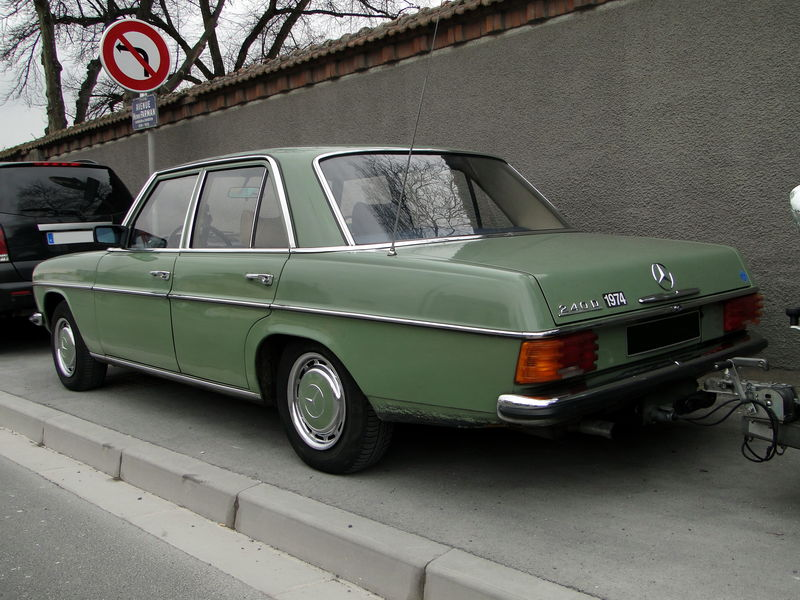 Mercedes benz 240d w115 1974 1977 oldiesfan67 mon for Mercedes benz 240 d