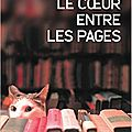 Le coeur entre les pages, shelly king