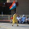 Trop fiere de son drapeau!