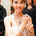 Jolin inaugurates a cartier store in taichung