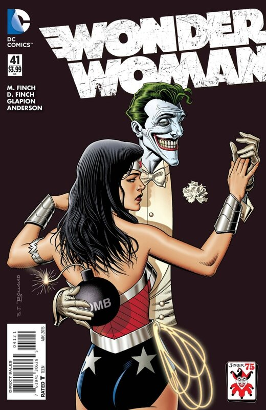 wonder woman 41 joker variant