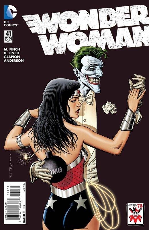 wonder woman 41 joker variant
