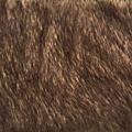 Fourrure brun chaud