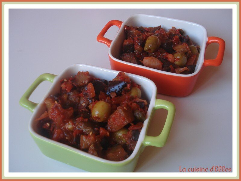Caponata d'aubergines