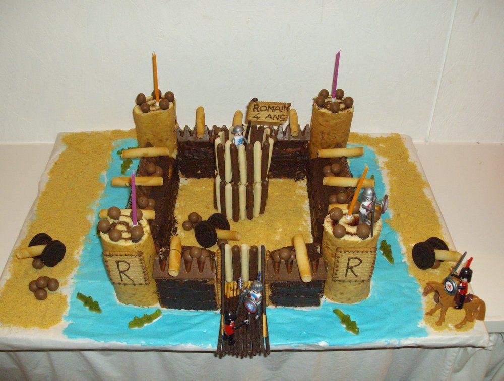 Gateau chateau fort