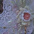 Lace book shabby