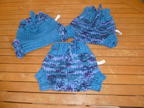 AAM 2012 lot de 3 culottes prem's