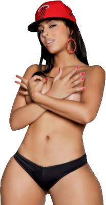 Sexy+Miami+Heat+Model