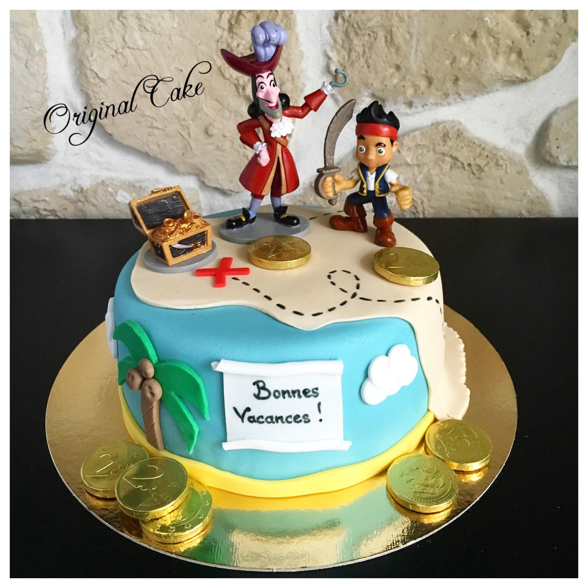 G teau jack et les pirates original cake - Jack et le pirate ...