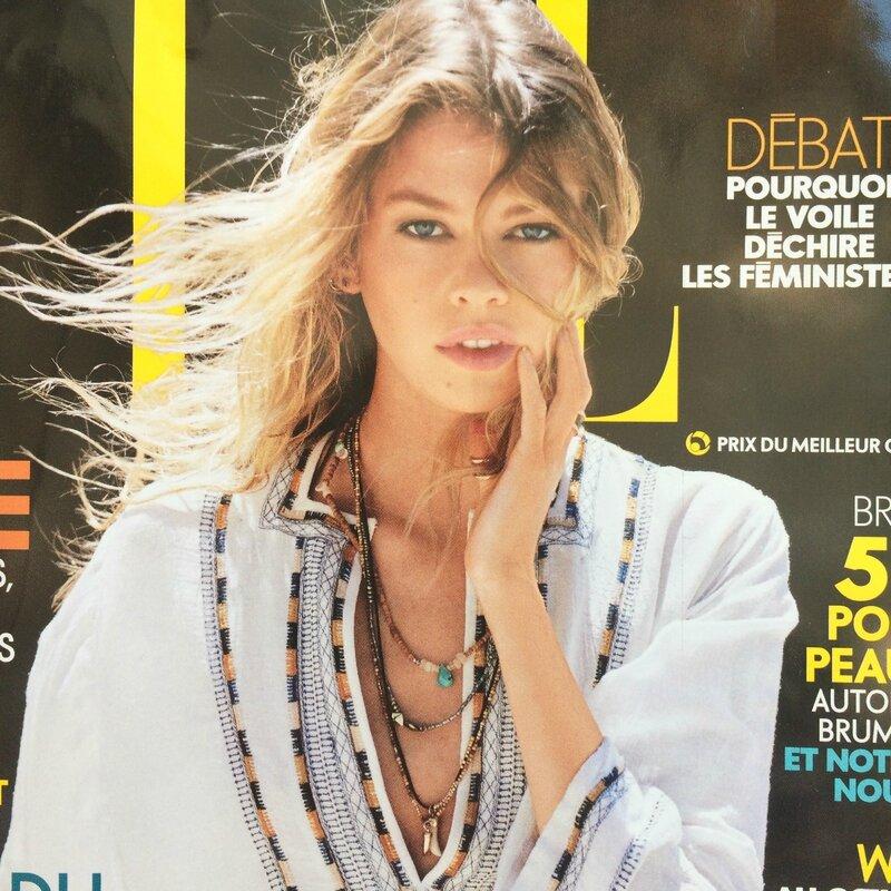 Parution bijoux 5 OCTOBRE collection printemps 2016 Boutique Avant Après 29 rue Foch 34000 Montpellier