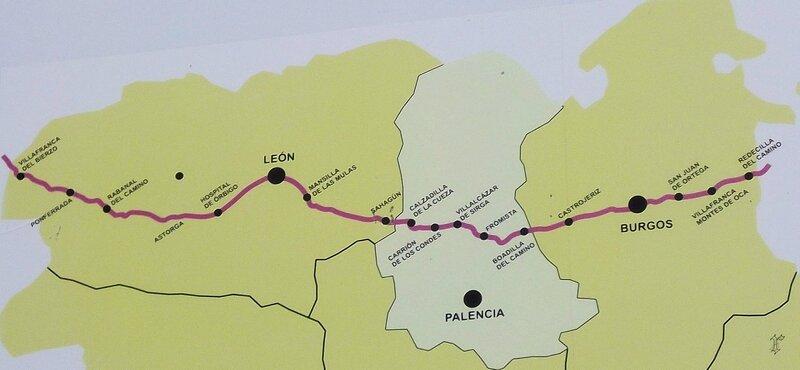 Chemin en Castille et Leon