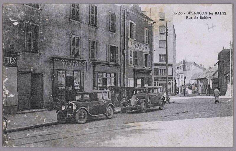 rue de Belfort épicerie Brochet et tabac